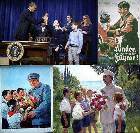Obama and his peers