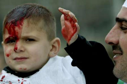 "Just cutting up a little bit to serve ""Allah"""
